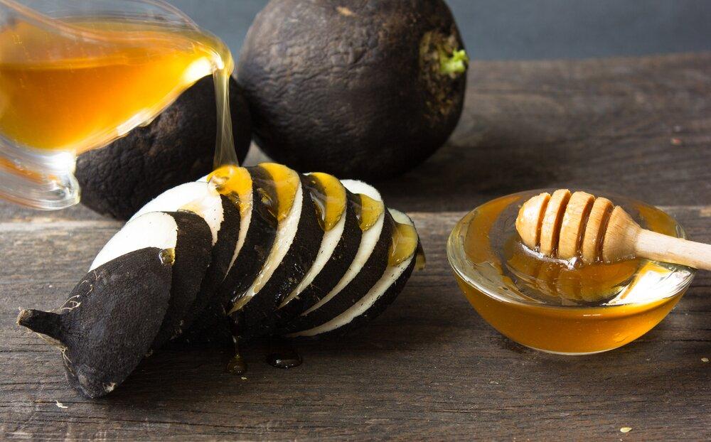 Как употреблять редьку с медом